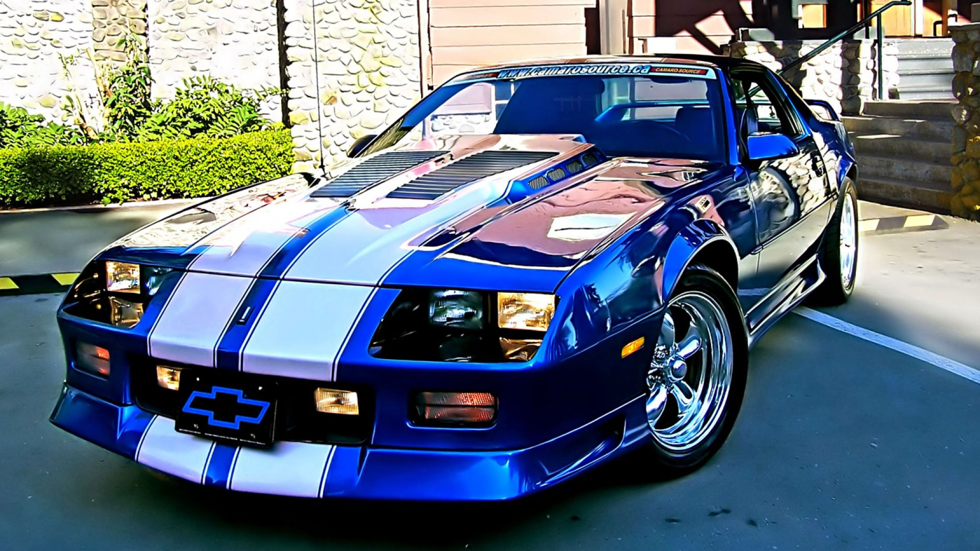 1992 camaro z28 blue silver muscle gta. Black Bedroom Furniture Sets. Home Design Ideas