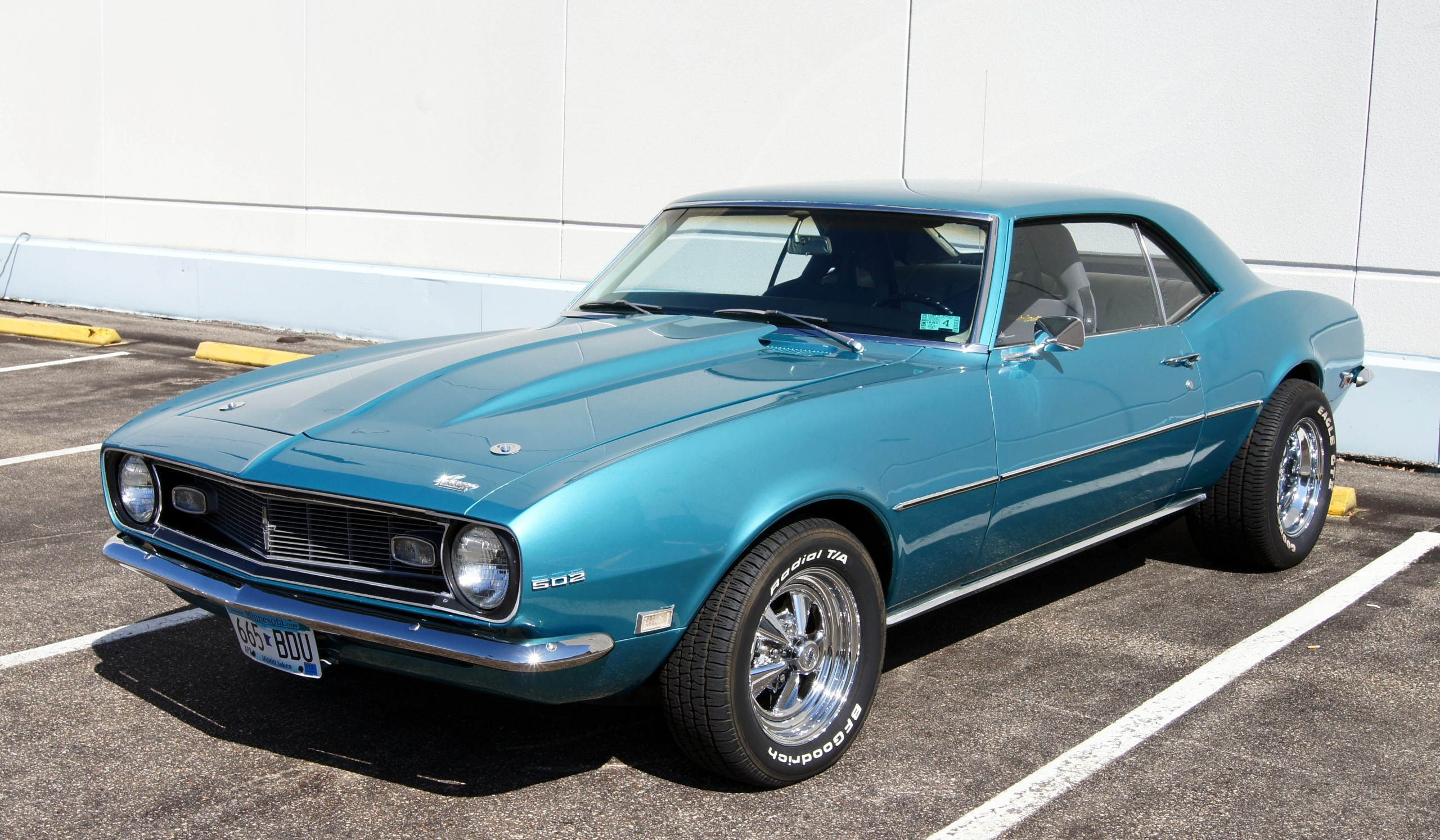 68 Chevrolet Camaro Muscle Gta