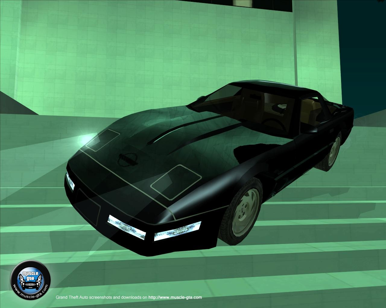 Screenshot of Chevrolet Corvette C4 ZR-1 1991 mod for GTA San Andreas