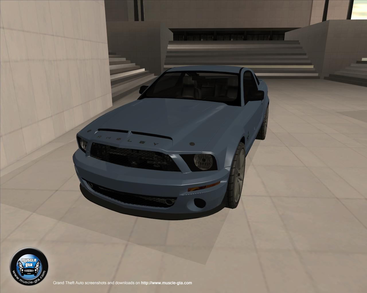 Screenshot of Ford Mustang Shelby GT500KR 2008 mod for GTA San Andreas