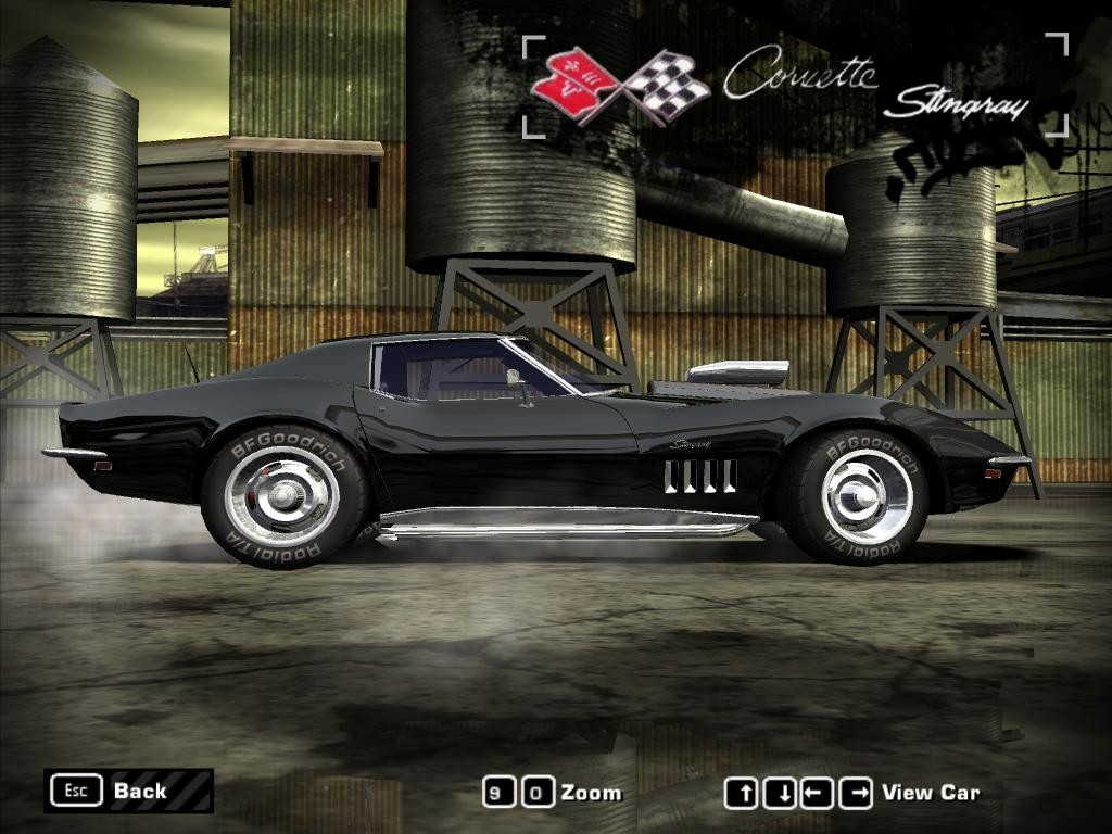 1969 Corvette Stingray >> Picture of Chevrolet Corvette Stingray (1969) for Need For Speed Most Wanted | Muscle GTA