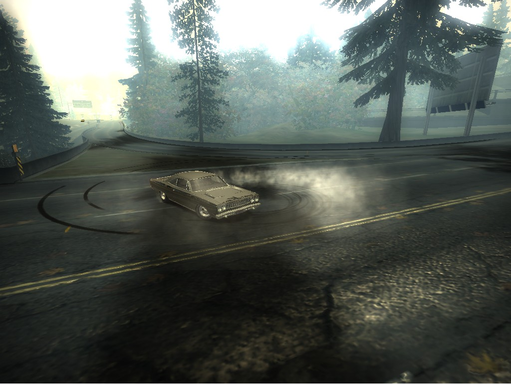 Screenshot of Plymouth Roadrunner 1968 mod for Need For Speed Most Wanted