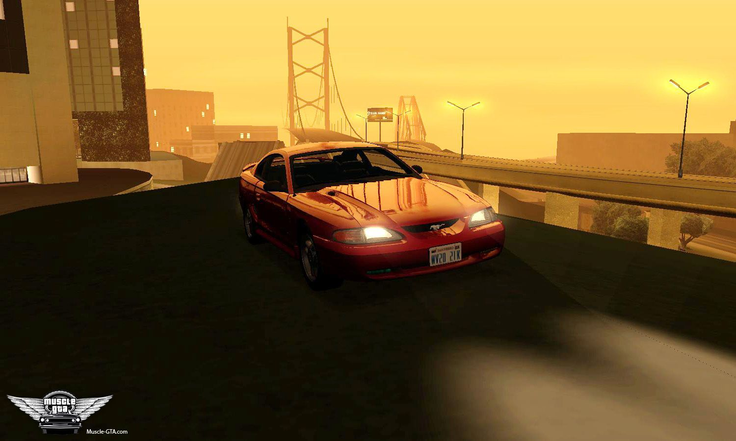 Screenshot of 1994 Ford Mustang GT mod for GTA San Andreas