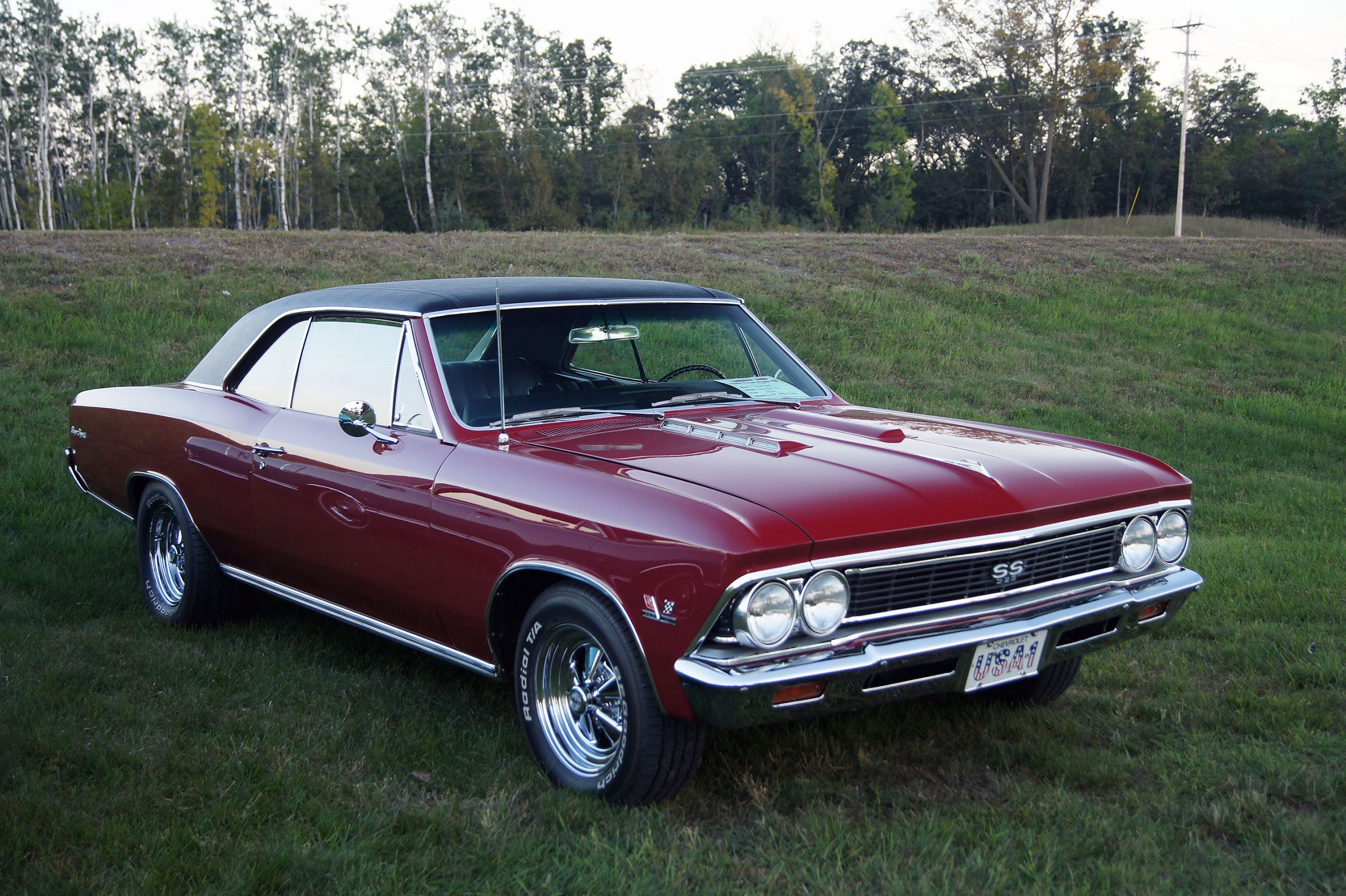 Chevelle Ss >> Maroon 1966 Chevrolet Chevelle SS | Muscle GTA