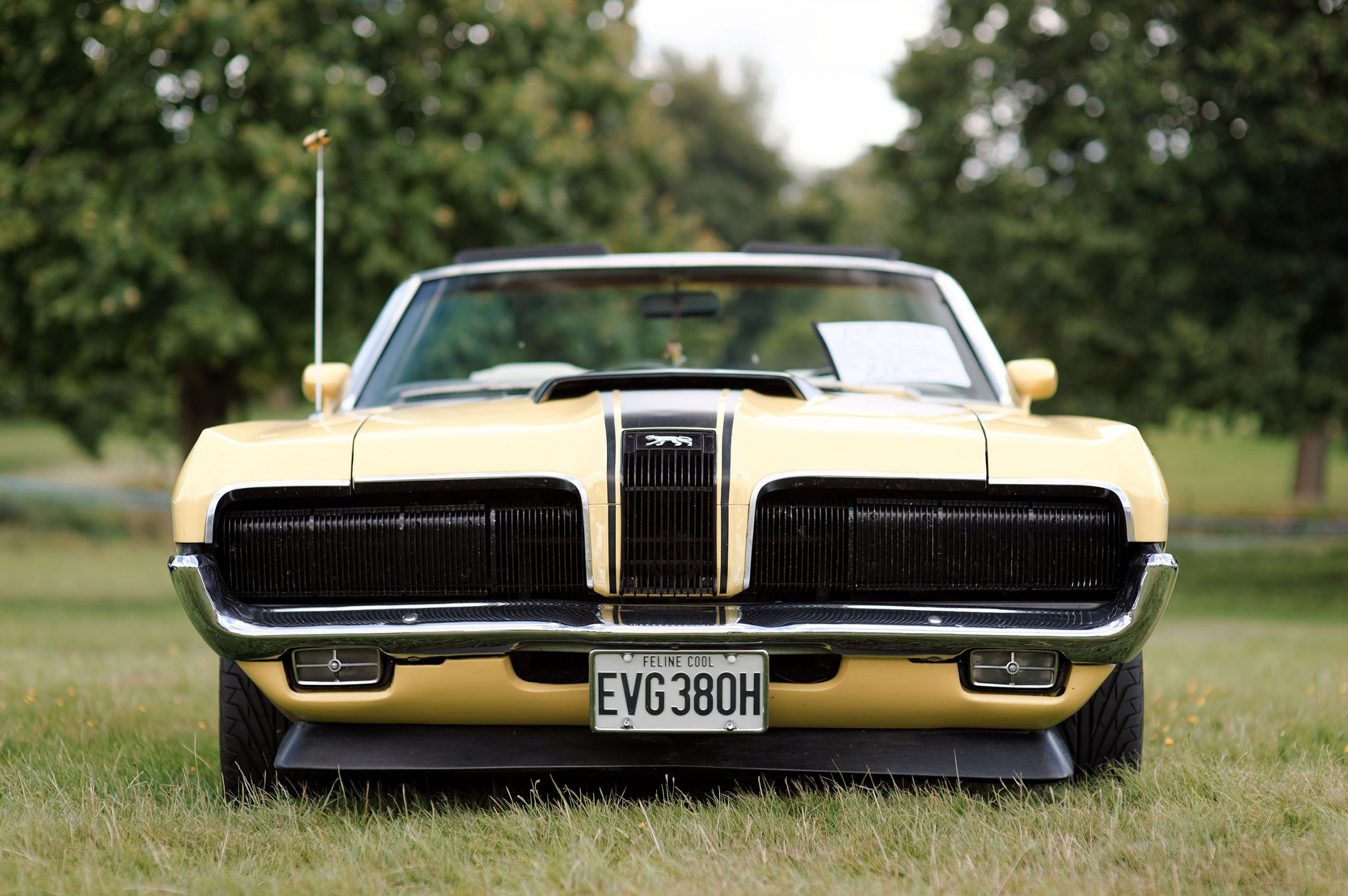 Mercury Cougar 1970 At Helmingham Festival Of Clics And Sports Cars 2016
