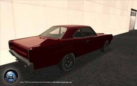 Screenshot of Plymouth Roadrunner 383 mod for GTA San Andreas