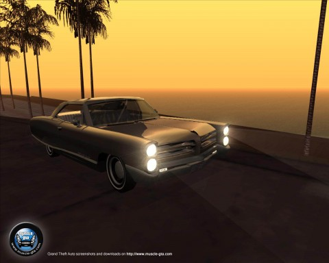 Screenshot of Pontiac Bonneville 1966 mod for GTA San Andreas