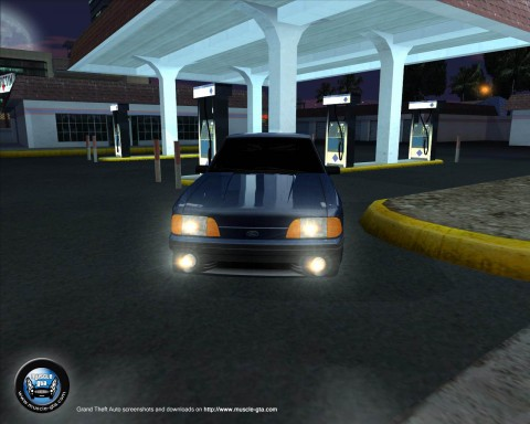 Screenshot of Ford Mustang GT 1993 mod for GTA San Andreas