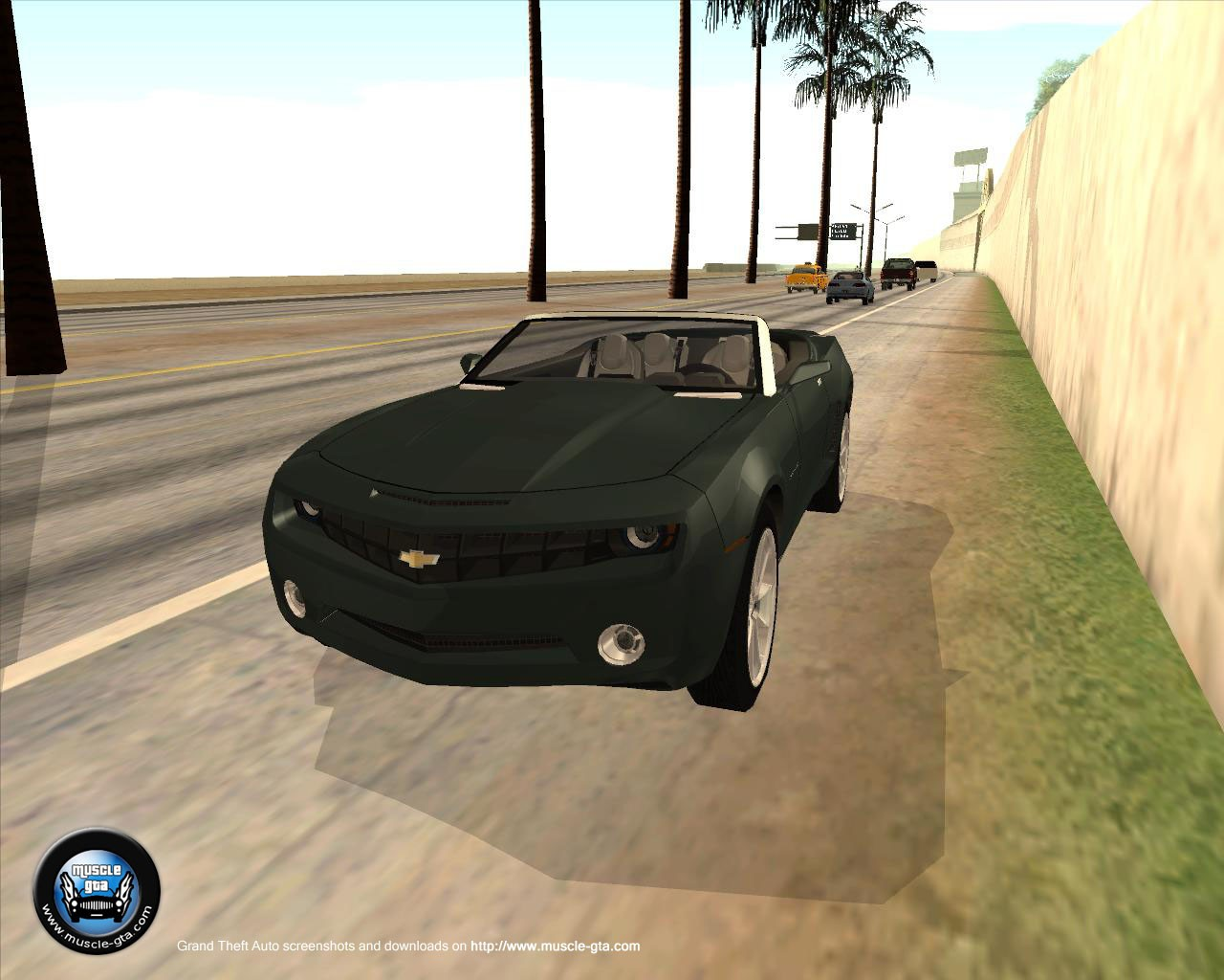 Chevrolet Camaro Concept (2006) for GTA San Andreas