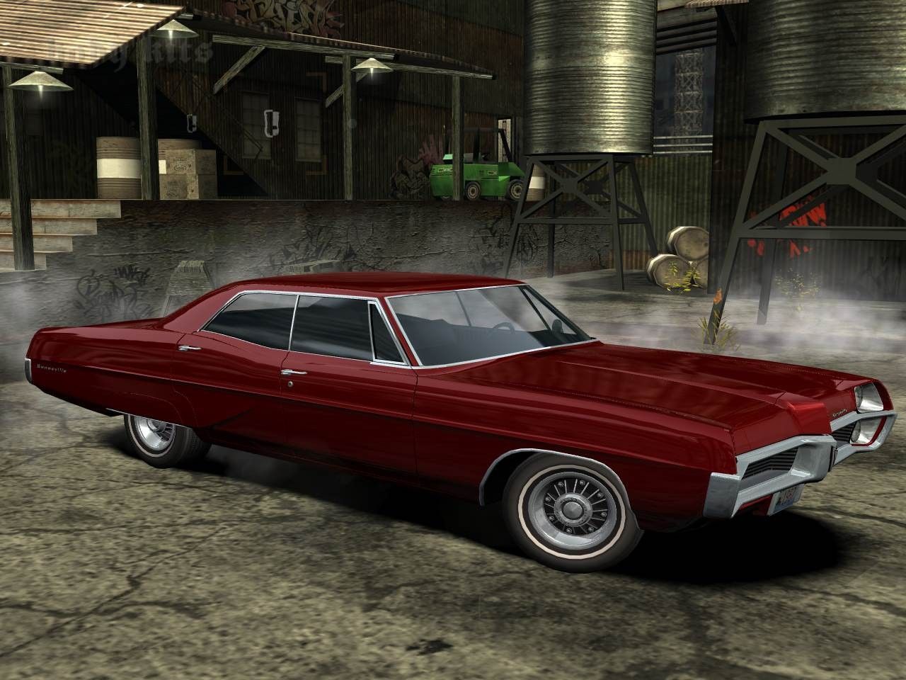 Pontiac Bonneville (1967) v.2 for Need For Speed Most Wanted