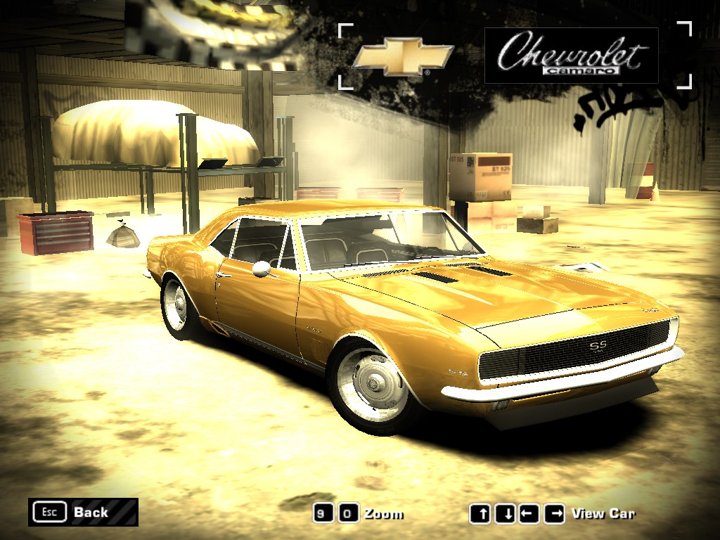 Chevrolet Camaro (1967) for Need For Speed Most Wanted