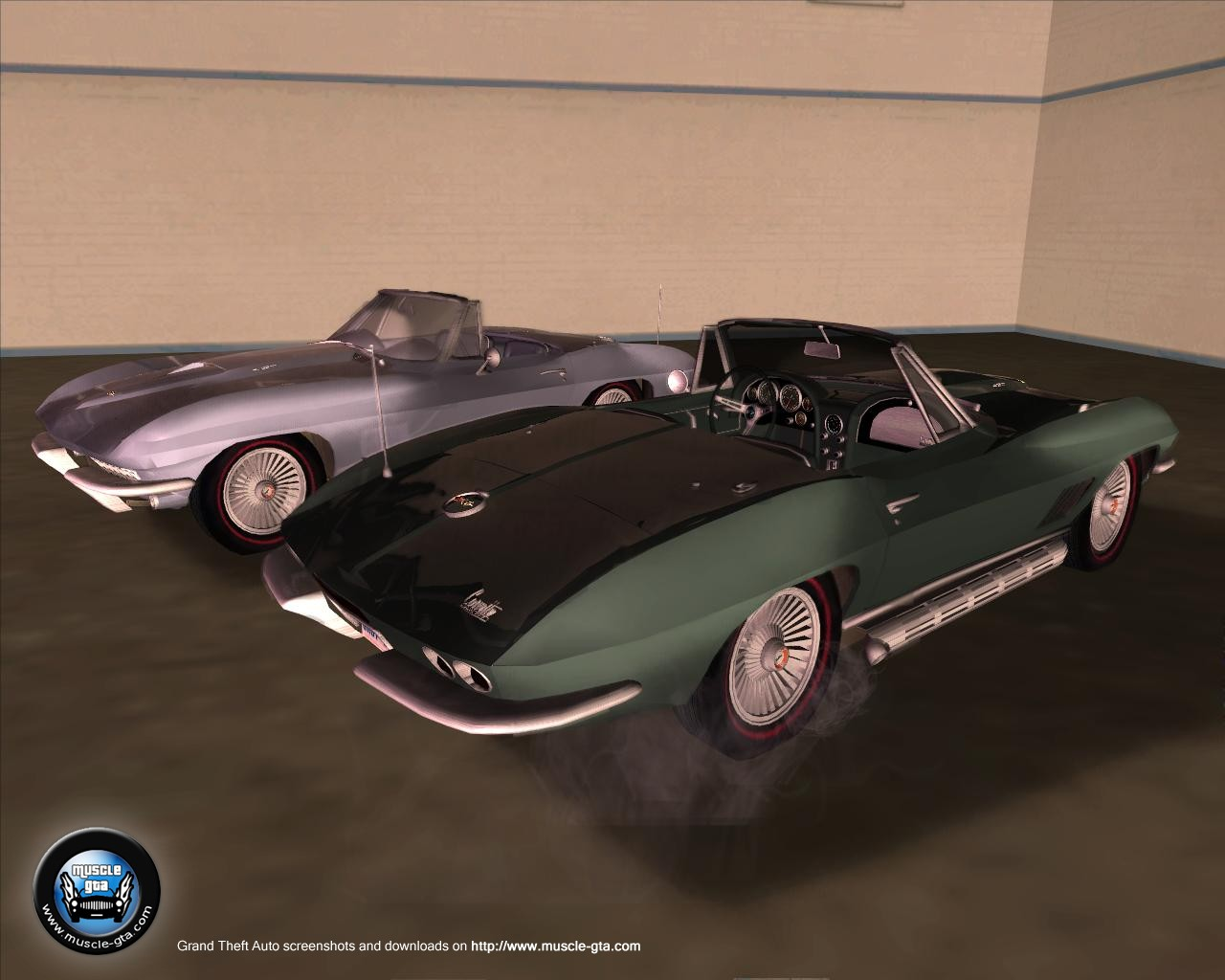 Chevrolet Corvette (1967) Convertible for GTA San Andreas