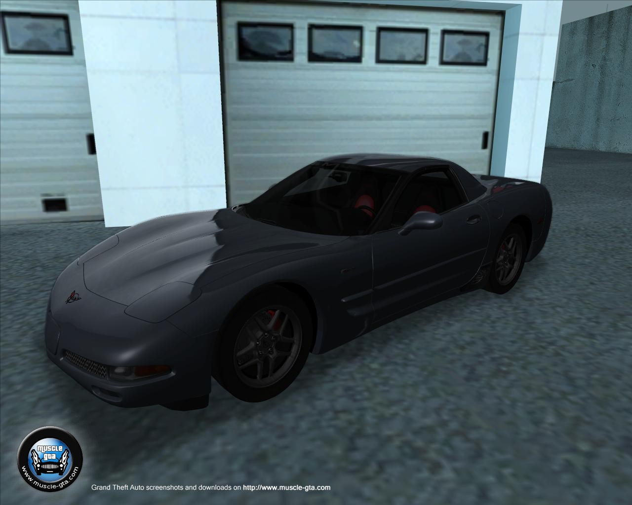 Chevrolet Corvette C5 (2001) for GTA San Andreas