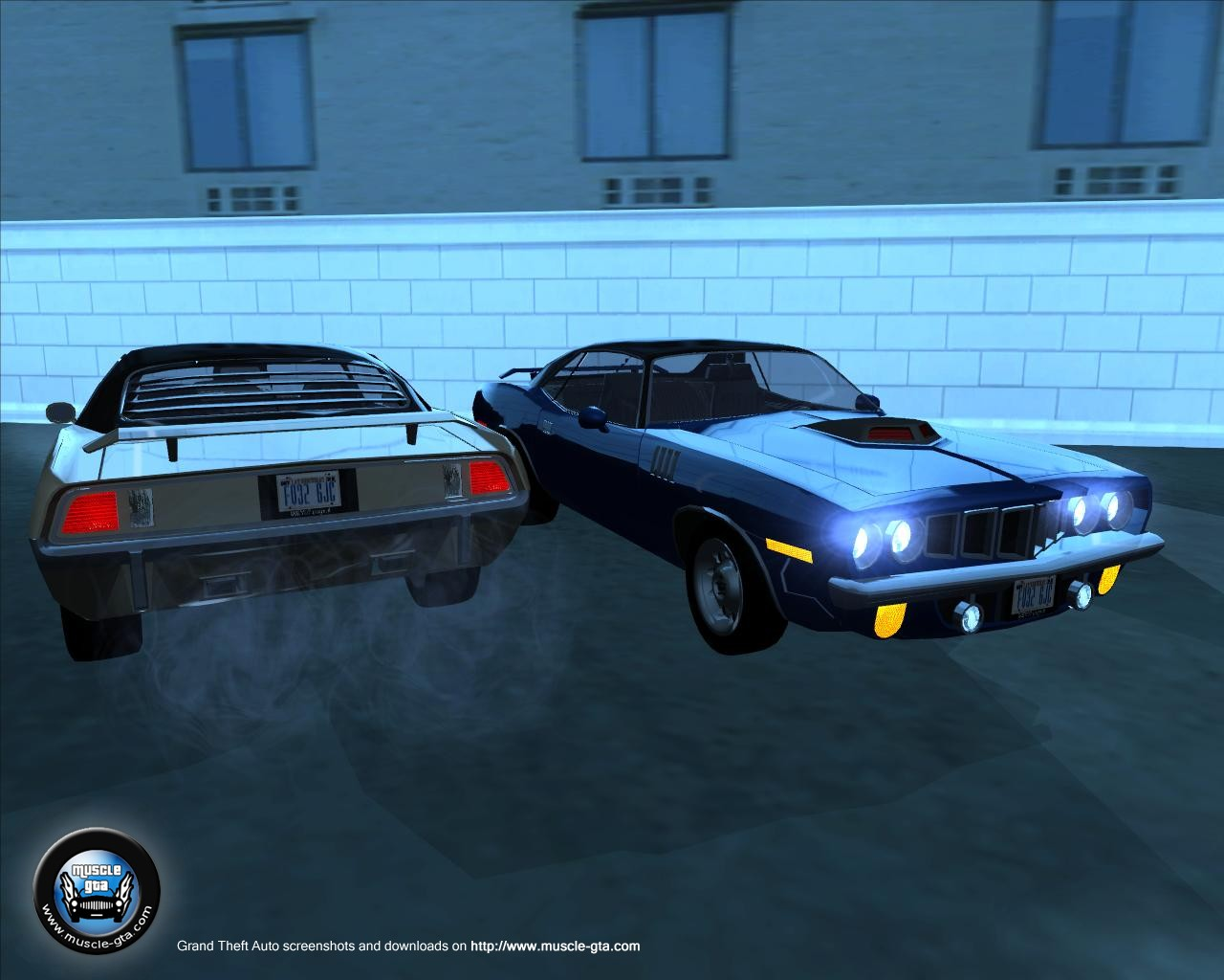 Plymouth Barracuda (1972) for GTA San Andreas
