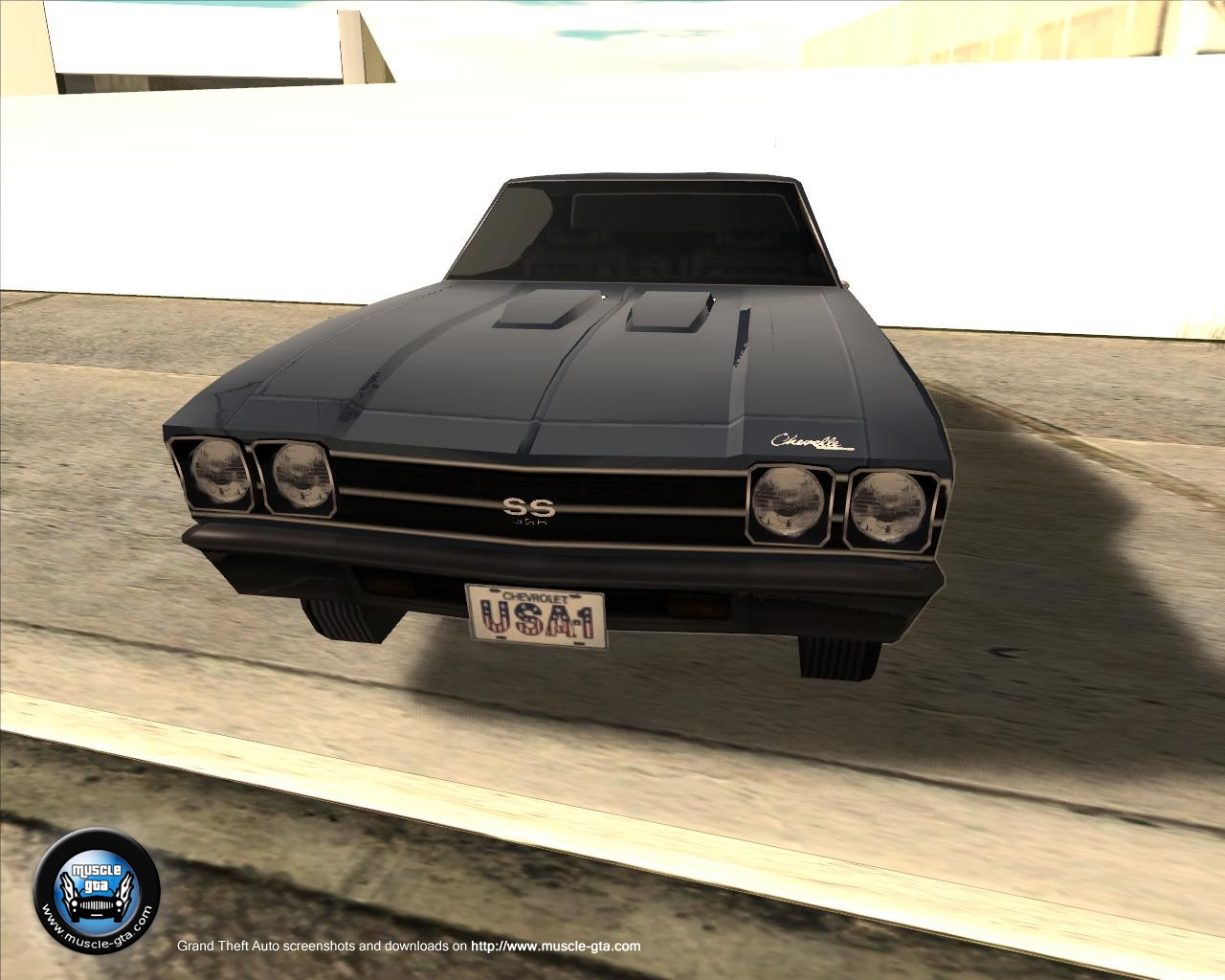 Chevrolet Chevelle (1969) for GTA San Andreas