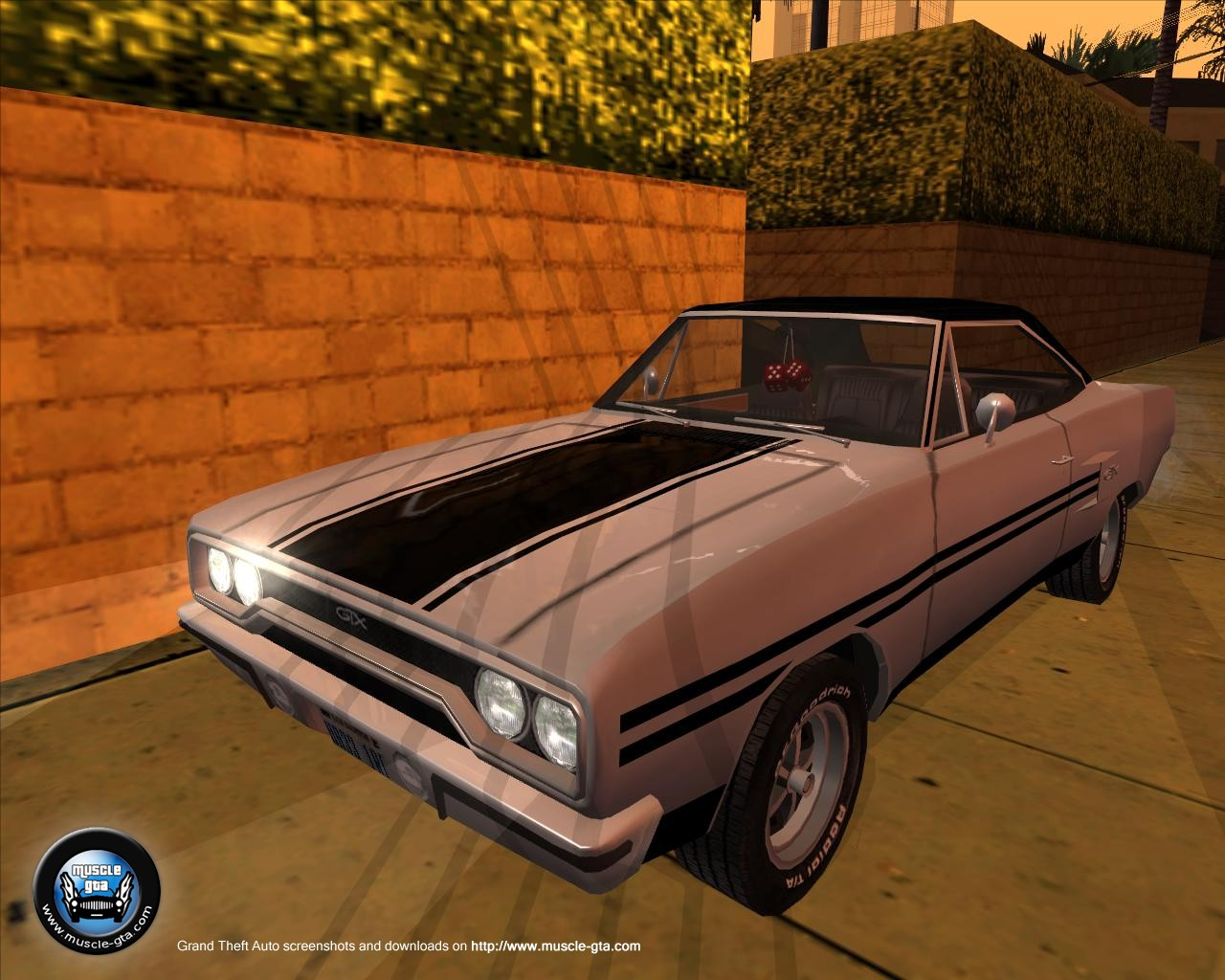 Plymouth Road Runner - GTX (1970) for GTA San Andreas