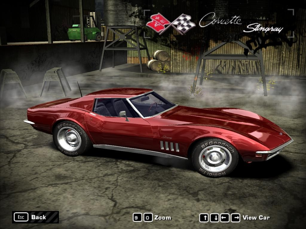 Chevrolet Corvette Stingray (1969) for Need For Speed Most Wanted
