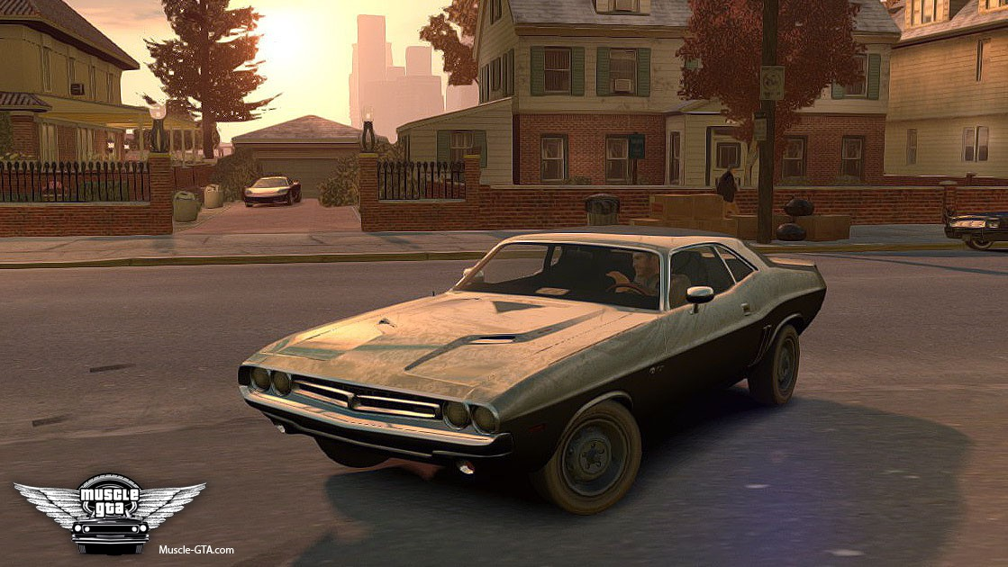 Dodge Challenger 1971 for GTA 4