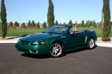 99 SVT Cobra electric green clearcoat metallic