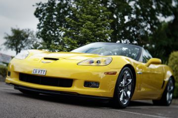 Corvette C6 yellow