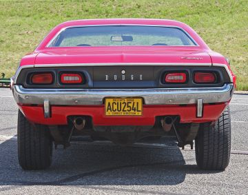 Dodge Challenger 1969 Rear