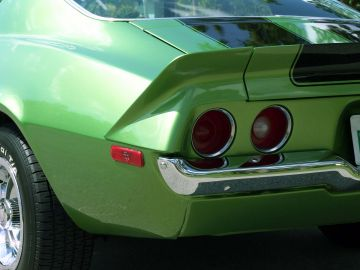 1971 Chevrolet Camaro SS rear close up