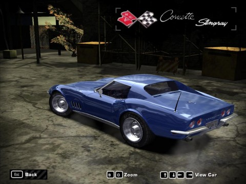 Chevrolet Corvette C3 Shark 1968-1982