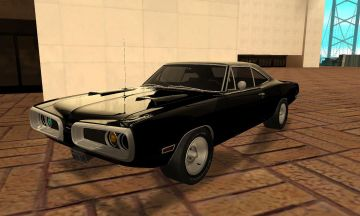 Black 1970 Super Bee