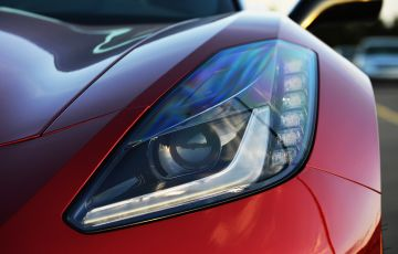 Chevrolet Corvette (C7) Stingray headlight