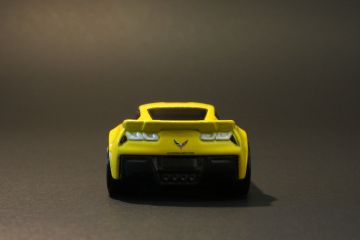 Hot Wheels Chevrolet Corvette C7 Z06 Rear