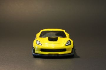 Hot Wheels Chevrolet Corvette C7 Z06 Front