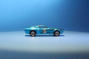 Blue Hot Wheels  67 Shelby GT500 Cool Classics