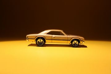 Chevrolet RPO D96 Sport Stripes on 1/64 Chevelle SS 396