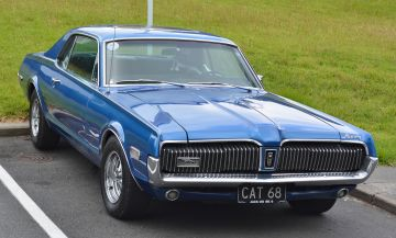 1968 Ford Mercury Cougar in Auckland, New Zealand