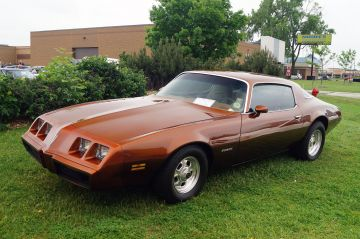 Brown 1980 Pontiac Firebird